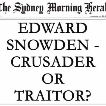 Snowden Headline